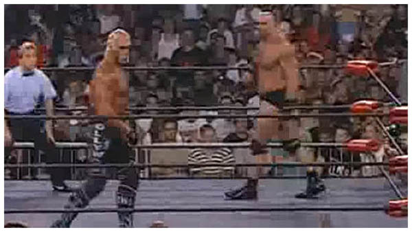hulk hogan contre bill goldberg wcw nitro en 1998