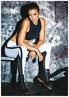 Lauren Cohan – James Macari Photoshoot for Shape Magazine January/February 2016